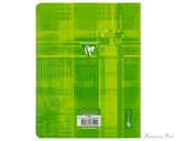 Clairefontaine Classic Staplebound Notebook - 6.5 x 8.25, French-Ruled - Assorted - Back