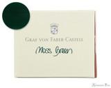 Graf von Faber-Castell Moss Green Ink Cartridges (6 Pack)