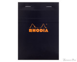 Rhodia No. 13 Staplebound Notepad - A6, Graph - Black