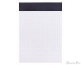 Rhodia No. 13 Staplebound Notepad - A6, Graph - Black open