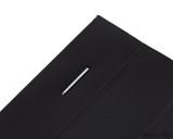 Rhodia No. 13 Staplebound Notepad - A6, Graph - Black staple closeup