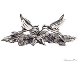 Jac Zagoory Hummingbird Pewter Pen Holder