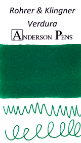 Rohrer & Klingner Verdura Green Ink Sample (3ml Vial)