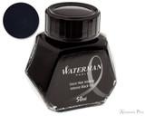 Waterman Intense Black Ink (50ml Bottle)