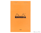 Rhodia No. 14 Staplebound Notepad - 4.375 x 6.375, Lined - Orange
