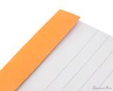 Rhodia No. 12 Staplebound Notepad - 3.375 x 4.75, Lined - Orange perforations
