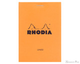 Rhodia No. 12 Staplebound Notepad - 3.375 x 4.75, Lined - Orange