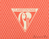 Clairefontaine 1951 Clothbound Notebook - 5.75 x 8.25, Lined - Red Coral logo