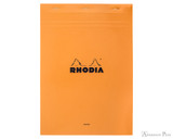 Rhodia No. 18 Staplebound Notepad - A4, Blank - Orange