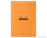Rhodia No. 18 Staplebound Notepad - A4, Blank - Orange