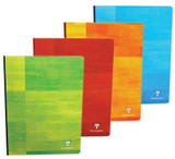 Clairefontaine Classic Clothbound Notebook - A4, French-Ruled - Assorted