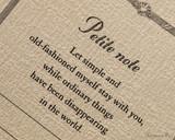 ProFolio Petite Journal - Small, Cream - Cover