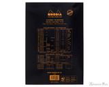 Rhodia No. 18 Staplebound Notepad - A4, Blank - Black back cover