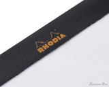 Rhodia No. 18 Staplebound Notepad - A4, Blank - Black perforations