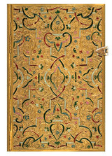 Paperblanks Mini Journal - Gold Inlay, Lined