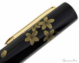 Namiki Chinkin Fountain Pen - Cherry Blossom - Cap Pattern