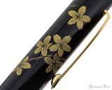 Namiki Chinkin Fountain Pen - Cherry Blossom - Cap Pattern 2