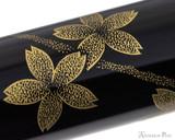 Namiki Chinkin Fountain Pen - Cherry Blossom - Pattern