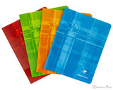 Clairefontaine Classic Staplebound Notebook - 6.5 x 8.25, Lined - Assorted