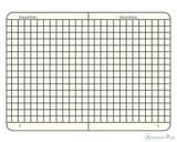 Leuchtturm1917 Notebook - A5, Graph - Black open