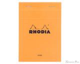 Rhodia No. 13 Staplebound Notepad - A6, Lined - Orange