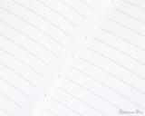 APICA CD15 Notebook - B5, Lined - Black closeup