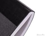APICA CD15 Notebook - B5, Lined - Black thread binding