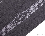 APICA CD15 Notebook - B5, Lined - Black scroll