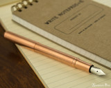 Kaweco Liliput Fountain Pen - Copper - Posted on Notebook
