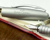 Faber-Castell Essentio Polished Fountain Pen Fine Nib - Nib on Notebook