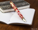 Platinum 3776 Celluloid Fountain Pen - Koi - Posted on Notebook