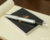 Pilot Metropolitan Fountain Pen - Silver Plain - Posted on Notebook