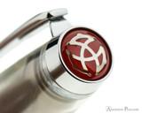 TWSBI Mini AL Fountain Pen - Silver - Cap Jewel