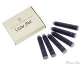 Graf von Faber-Castell Violet Blue Ink Cartridges loose and box