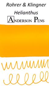 Rohrer & Klingner Helianthus Ink Color Swab