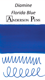 Diamine Florida Blue Ink Sample (3ml Vial)