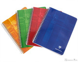 Clairefontaine Classic Wirebound Notepad - 6.75 x 8.75, French-Ruled - Assorted