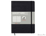 Leuchtturm1917 Softcover Notebook - A5, Lined - Black