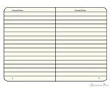 Leuchtturm1917 Softcover Notebook - A5, Lined - Black open