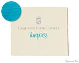 Graf von Faber-Castell Turquoise Ink Cartridges (6 Pack)