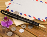 Namiki Emperor Fountain Pen - Black Urushi - Posted on Airmail
