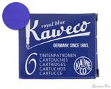 Kaweco Royal Blue Ink Cartridges (6 Pack)