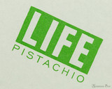 Life Pistachio Notebook - A6 (4 x 6), Graph Paper - Cover