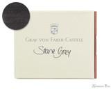 Graf von Faber-Castell Stone Grey Ink Cartridges (6 Pack)