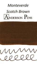 Monteverde Scotch Brown Ink Sample (3ml Vial)