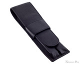 Girologio 2 Pen Case - Black Leather