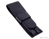 Girologio 2 Pen Case - Black Leather