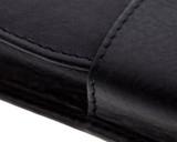Girologio 2 Pen Case - Black Leather - Stitching