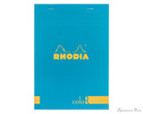 Rhodia No. 16 Premium Notepad - A5, Lined - Turquoise
