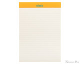 Rhodia No. 16 Premium Notepad - A5, Lined - Turquoise open